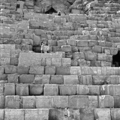 Cheopspyramiden, Kairo, Egypten