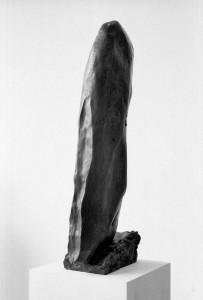 'Självbild', brons, höjd 66 cm, 1963.