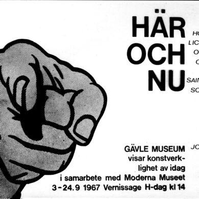 """<a href=""""http://sivertlindblom.se/folio/utstallningar/har-och-nu-gavle-museum-i-samarbete-med-moderna-museet-1967/"""" rel=""""noopener"""" target=""""_blank"""">Om samlingsutställningen</a>"""