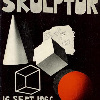 """<a href=""""http://sivertlindblom.se/folio/utstallningar/nutida-svensk-skulptur-liljevalchs-1966/"""" rel=""""noopener"""" target=""""_blank"""">Med bland annat Bengt Olvångs text om """"Dopo""""</a>"""