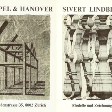"1/2 <a href=""http://sivertlindblom.se/texter/andras-texter/ulf-linde-text-to-exhibition-at-gimpel-hanover-zurich-1971/"" rel=""noopener"" target=""_blank"">Förord Ulf Linde</a> 2/2 <a href=""http://sivertlindblom.se/folio/utstallningar/galerie-gimpel-hanover-zurich-1971/"" rel=""noopener"" target=""_blank"">Katalog mit Züri Leu und Tages Anzeiger kommentar</a>"
