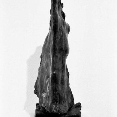 'Självbild', brons, höjd 45 cm, 1961.