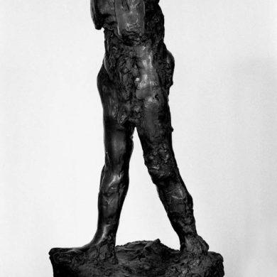 Fritt efter Rodin, brons, höjd 100 cm, 1961.