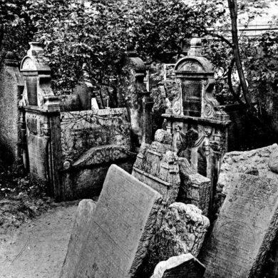 Judisk kyrkogård, Prag