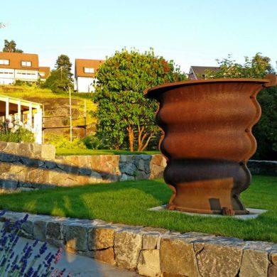 Månsarp gjuteri gjöt Siverts urna Foto: Jan Öqvist