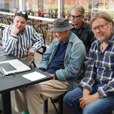Jan Öqvist, Sivert, Ulf Ferrius och Ulf Lorensson Foto: Magnus Lindblom