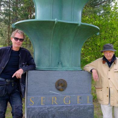 Ulf Ferrius och Sivert Foto: Jan Öqvist